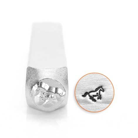 ImpressArt Galloping Horse 6mm Metal Stamping Design Punch