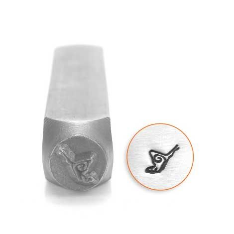 ImpressArt Butterfly 6mm Metal Stamping Design Punch