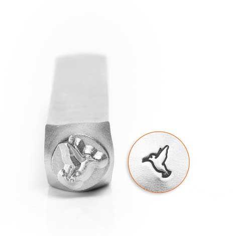 ImpressArt Humming Bird 6mm Metal Stamping Design Punch