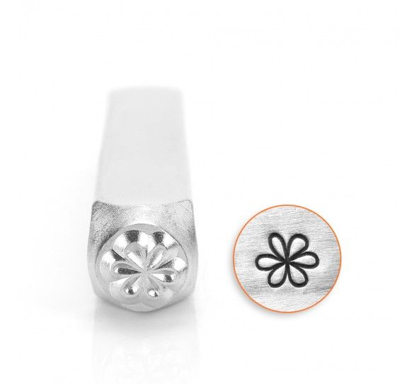 ImpressArt Whimsy Flower 6mm Metal Stamping Design Punch
