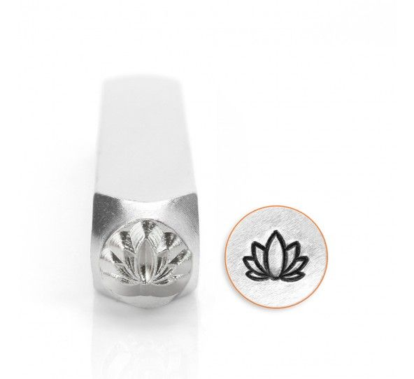 ImpressArt Lotus 6mm Metal Stamping Design Punch