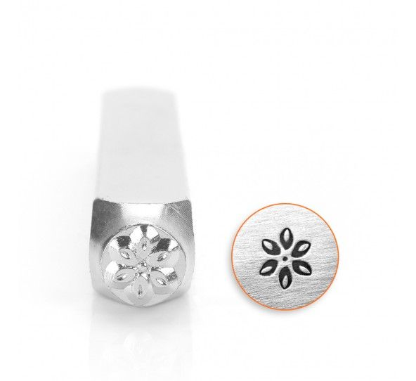 ImpressArt Lily 6mm Metal Stamping Design Punch