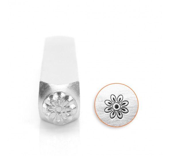 ImpressArt Floret 6mm Metal Stamping Design Punch