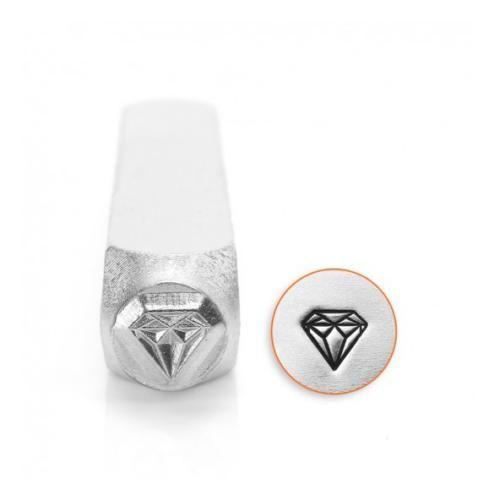 ImpressArt Diamond Design 6mm Metal Stamping Design Punch