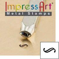 ImpressArt Flourish H 3mm Metal Stamping Design Punch