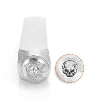 ImpressArt Angry Skull 6mm Metal Stamping Design Punch