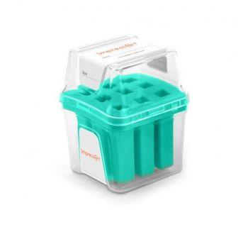 ImpressArt Storage Box Case for 6mm Number Sets - Teal