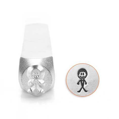 ImpressArt Groom Stick Man 7mm Metal Stamping Design Punch