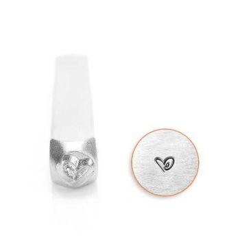 ImpressArt Boogie Heart 3mm Metal Stamping Design Punch