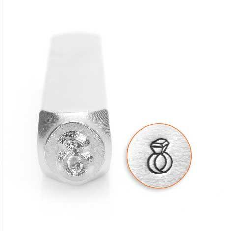 ImpressArt Diamond Ring 6mm Metal Stamping Design Punch