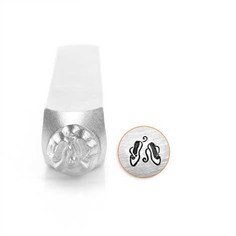 ImpressArt Ballet Slippers 6mm Metal Stamping Design Punch