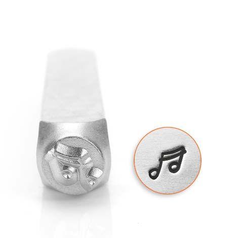 ImpressArt Music Note 6mm Metal Stamping Design Punch
