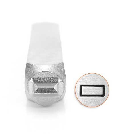 ImpressArt Rectangle 6mm Metal Stamping Design Punch