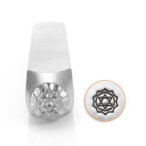 ImpressArt Heart Chakra 6mm Metal Stamping Design Punch