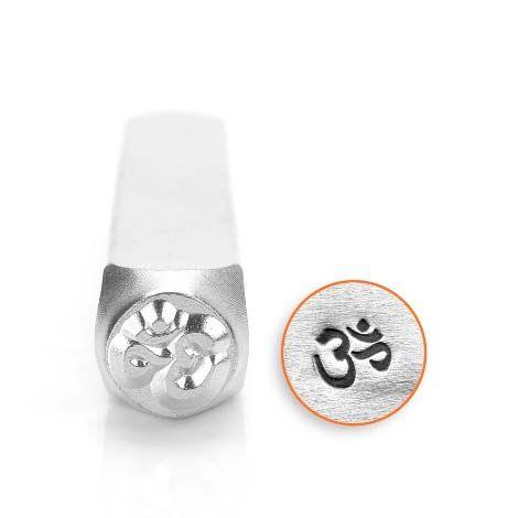 ImpressArt Om Symbol  6mm Metal Stamping Design Punch