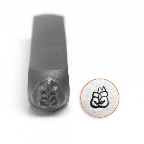 ImpressArt Boxing Gloves 6mm Metal Stamping Design Punch