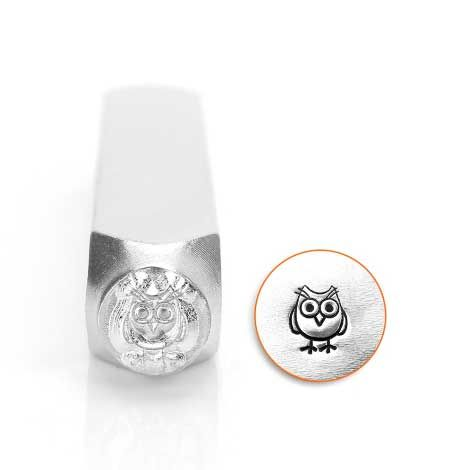 ImpressArt Stick Family Hootie the Owl 6mm Metal Stamping Design Punch