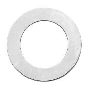 "ALUMINIUM SOFT STRIKE BLANK -  WASHER 1 1/2 "" (38mm) - 20 GAUGE - PACK OF 5"