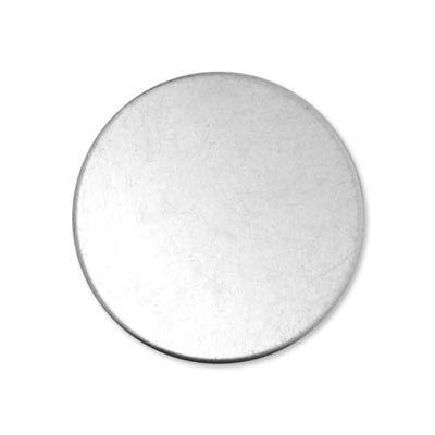 Alkeme blank - round circle - 1 1/4