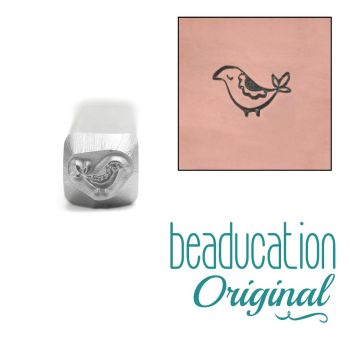 199 Baby Partridge Beaducation Original Design Stamp