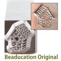 247 Bird House Beaducation Original Design Stamp