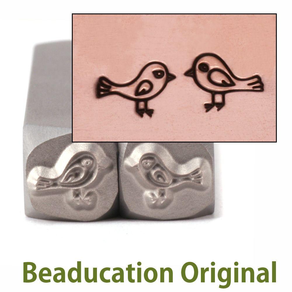 278 Love Birds set Beaducation Original Design Stamp