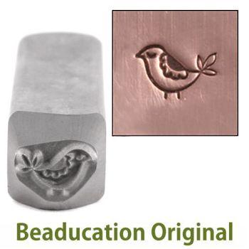238 Mama Partridge Beaducation Original Design Stamp