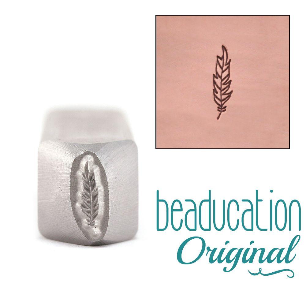 501 Feather Beaducation Original Design Stamp