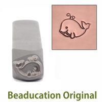 366 Whale Beaducation Original Design Stamp