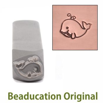 366 Whale Beaducation Original Design Stamp