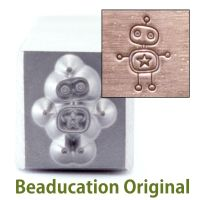 228 Robot Beaducation Original Design Stamp