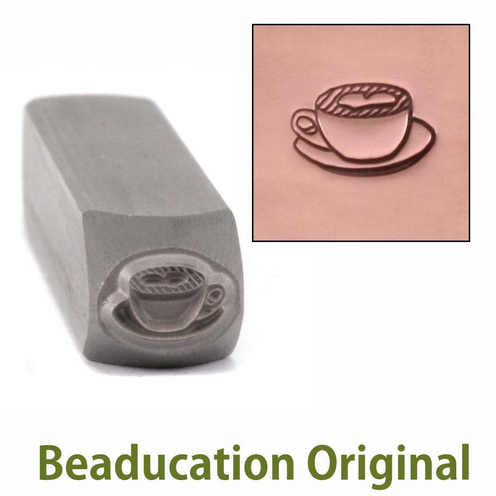 394 Latte Beaducation Original Design Stamp