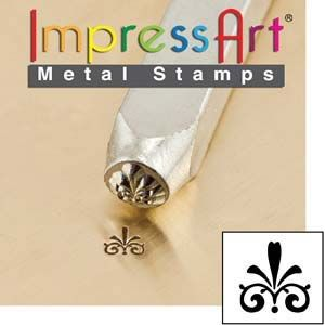 ImpressArt Flourish G 3mm Metal Stamping Design Punch