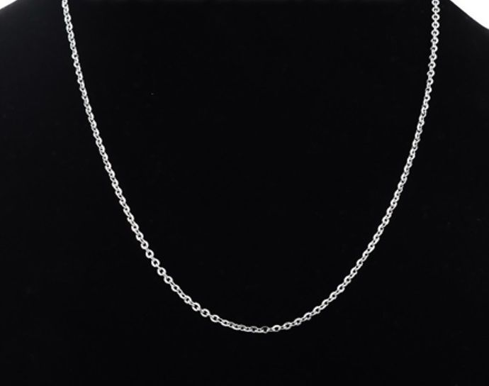 Stainless Steel Link Cable Chain Necklace 18