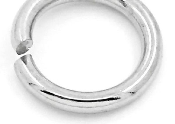Stainless Steel Strong Open Jump Rings 8 mm packet of 200
