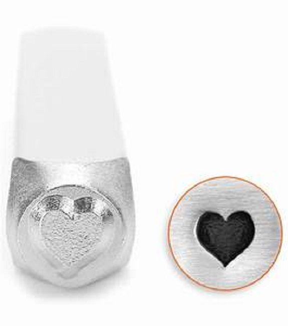 ImpressArt Heart 6mm Metal Stamping Design Punch