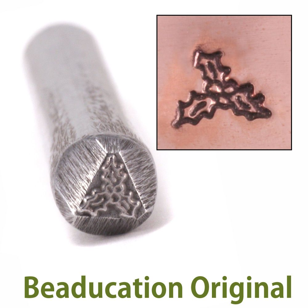 268 Holly Beaducation Original Design Stamp