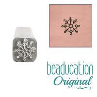 762 Winter Flower Beaducation Original Design Stamp