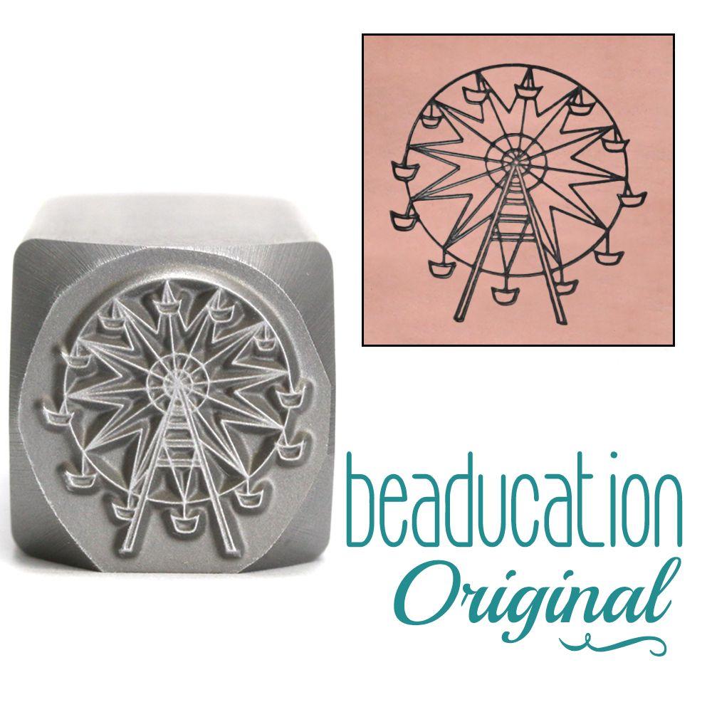 699 Ferris Wheel Beaducation Original Design Stamp 16 mm