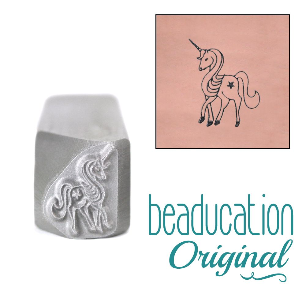 633 Full Unicorn Original Design Stamp 11 mm