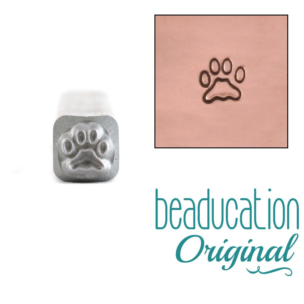 561 Paw Beaducation Original Design Stamp 6 mm