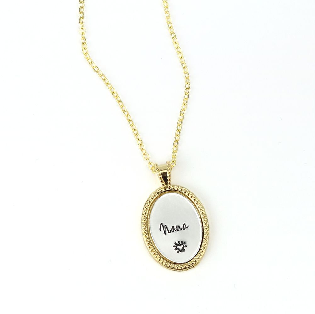 Gold Plated Oval Stampable BEZEL KIT