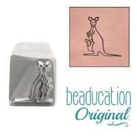 911 Kangaroo Beaducation Original Design Stamp