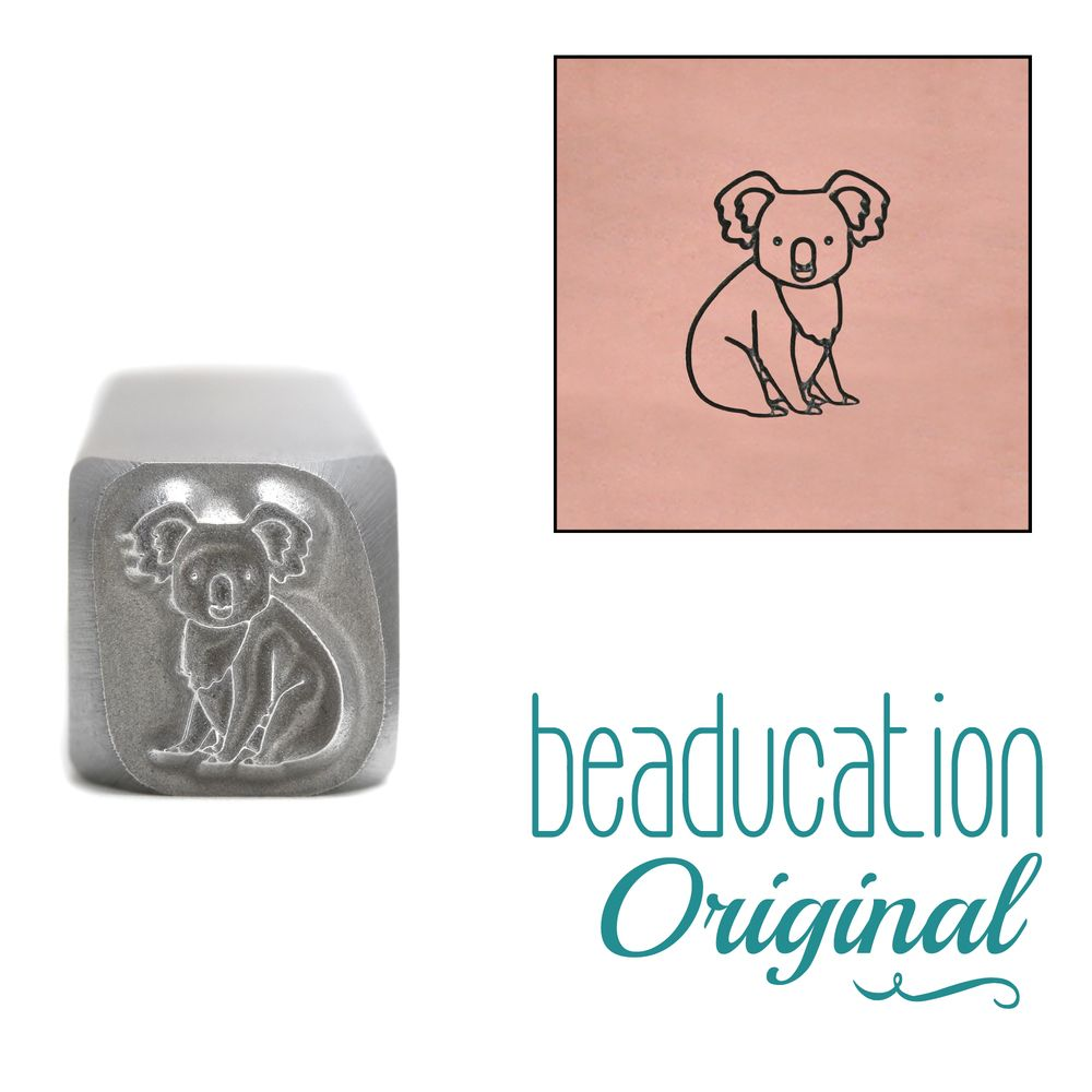 912 Koala Beaducation Original Design Stamp