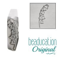 954 Lily Of The Valley Beaducation Original Design Stamp