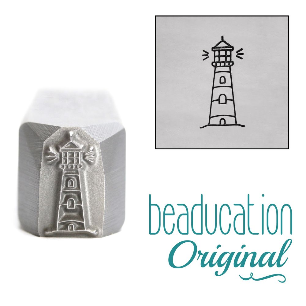 945 Lighthouse Beaducation Original Design Stamp