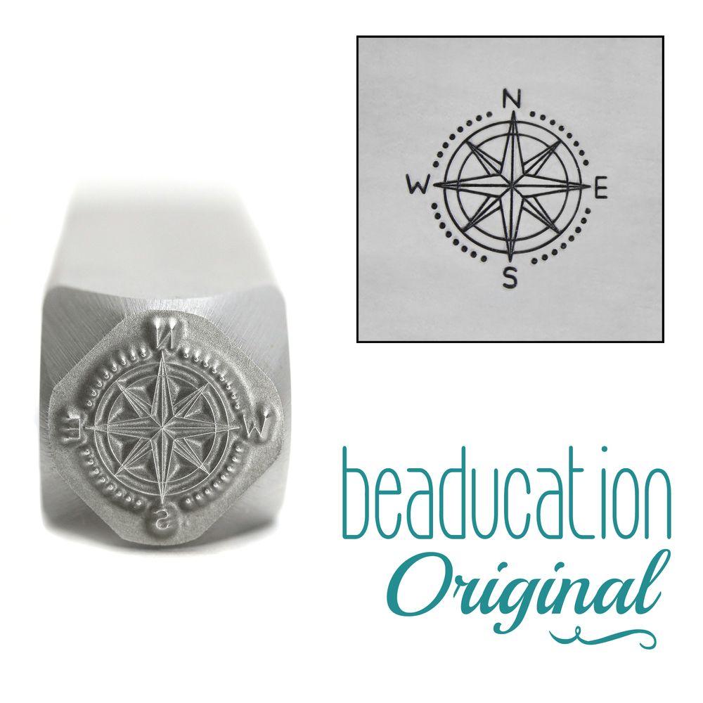 953 Compass Beaducation Original Design Stamp