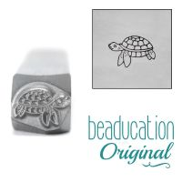 964 Sea Turtle Beaducation Original Design Stamp