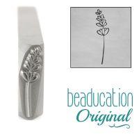 852 Lavender 17 mm  Beaducation Original Design Stamp