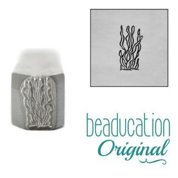 960 Kelp Metal Design Stamp, 8.2 mm - Beaducation Original
